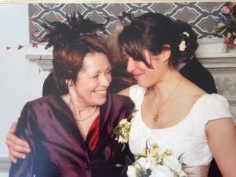 Georgie and mum